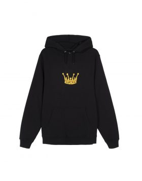 STUSSY – Chenille Crown Hood (Black)