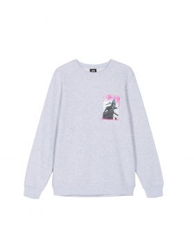 STUSSY – Emperor Crew (Ash Heather)