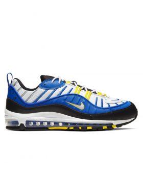 NIKE – Air Max 98 Man (Racer Blue/White-Black-Dynamic Yellow)