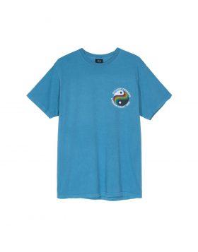 STUSSY – Laguna 80 Pig Dyed Tee (Blue)