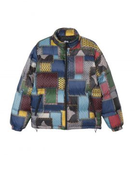 STUSSY – Puffer Jacket (Multicolor)
