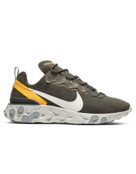 NIKE – Nike React Element 55 (Sequoia/Light Bone-University Gold)