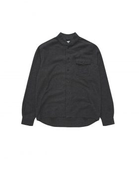 You Must Create – Delinquents Rib Collar Shirt (Grey)