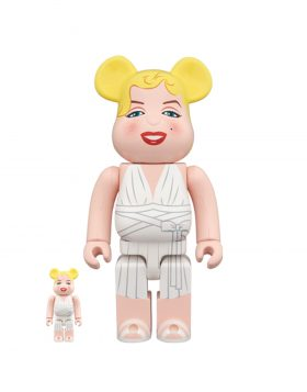 MEDICOM TOY – Be@rbrick Marilyn Monroe 100% & 400%