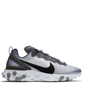 NIKE – Nike React Element 55 Premium (Metallic Silver/Black-Pure Platinum)