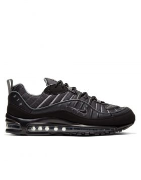 NIKE – Air Max 98 (Black/Black-Smoke Grey-Vast Grey)