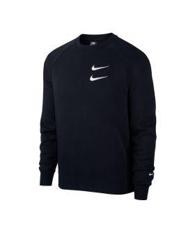 NIKE – Nike Sportswear Swoosh Men's Crew (Black/White)
