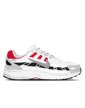 NIKE – P-6000 Man (	White/Particle Grey-University Red)