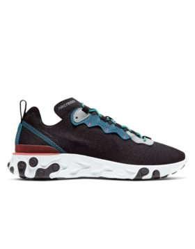 NIKE – Nike React Element 55 SE (Anthracite/Blue Fury-Pure Platinum)