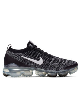 NIKE – Nike Air VaporMax Flyknit 3 (Black/White-Metallic Silver)
