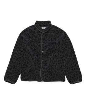 YOU MUST CREATE – Beach Jacket Leopard (Charcoal/Navy)