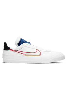 NIKE – Drop-Type (White/University Red-Deep Royal Blue)