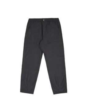Universal Works – Track Trouser In Flannel (Charcoal)