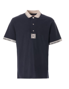 HENRI LLOYD x NIGEL CABOURN – Deck Polo Shirt (Navy Black)