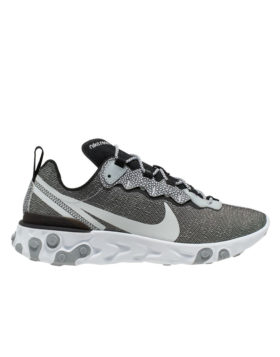NIKE – Nike React Element 55 SE (White/Pure Platinum-Wolf Grey-Black)