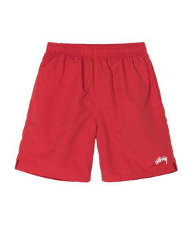 STUSSY – Stock Water Short (Red)