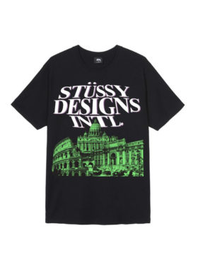 Stüssy – Rome Tee (Black)