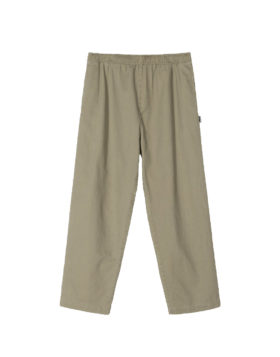 Stüssy – Brushed beach pant (Olive)