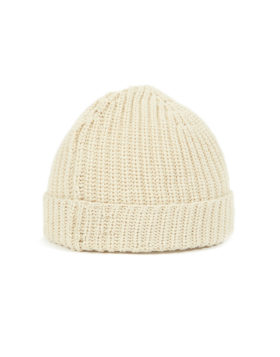 Universal Works – Watch Cap Eco Cotton Rib (Sand)