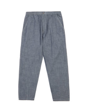 Universal works – Chambray Track Trouser (Indigo)
