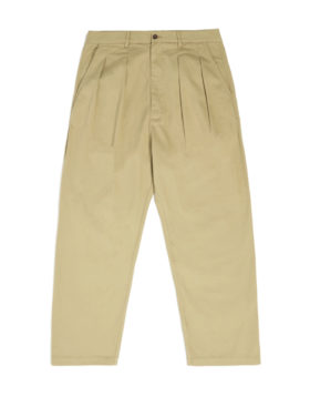 Universal works – Double pleat pant (sand)