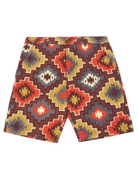 Universal Works – Deck Short (Santa Fe Canvas Brown)