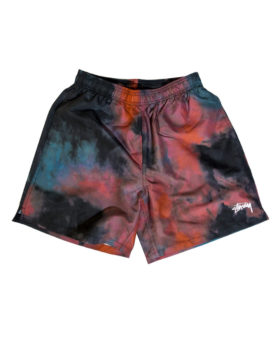 Stüssy – Dark dye water short (Black)