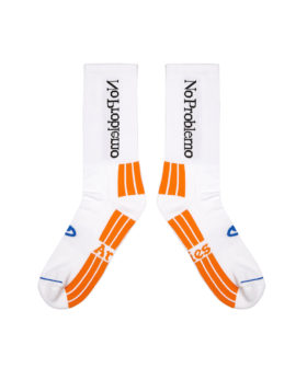 ARIES – No Problemo Socks (White)