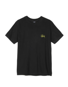 Stüssy – Basic Stüssy Dyed Tee Woman (Black)