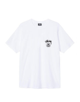Stüssy – Stock link tee (White)
