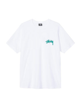 Stüssy – Tribal mask tee (white)