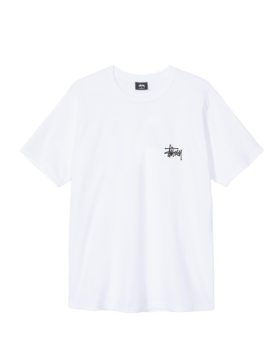 Stüssy – Basic Tee (White)