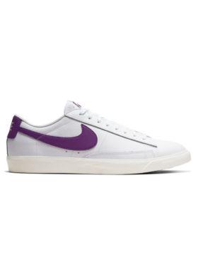 NIKE – Blazer Low Leather (White/Voltage Purple-Sail)