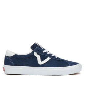 VANS – Vans Sport Suede (Dress Blue/True White)