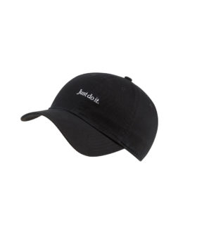 NIKE – Nike Sportswear Just do It Adjustable Hat (Black/White)