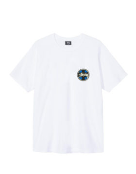 Stüssy – Cross Dot Tee (White)