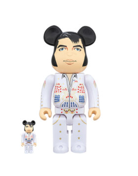 MEDICOM TOY – Be@rbrick Elvis Presley 100% & 400%