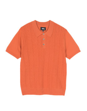 Stüssy – Cable SS Polo (Rust)