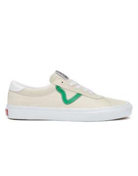 VANS – Vans Sport Suede (Marshmallow/Jolly Green)