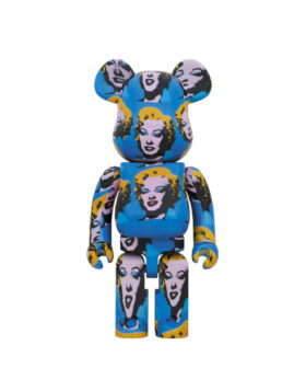 MEDICOM TOY – Be@arbrick Andy Warhol's Marilyn Monroe 1000%