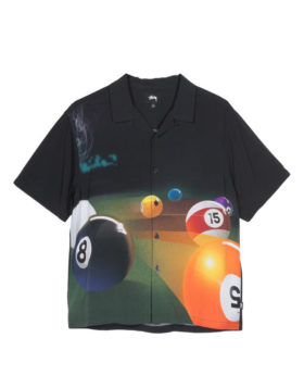 Stüssy – Pool Hall Shirt (Black)