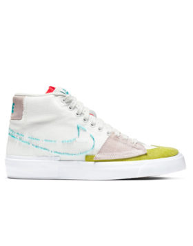 NIKE – SB Zoom Blazer Mid Edge (Summit White/Oracle Aqua-Summit White)