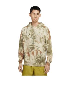 NIKE – Sportswear Tie Dye Pullover Hoodie (Medium Olive/White)