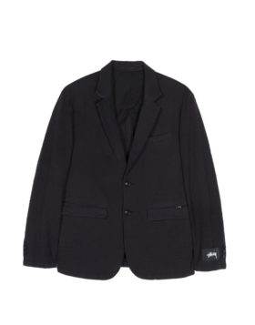 Stüssy – Seersucker Sport Coat (Black)