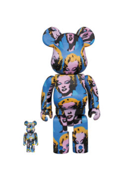 MEDICOM TOY – Be@arbrick Andy Warhol's Marilyn Monroe 100% & 400%