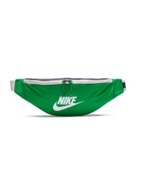 NIKE – Nike Heritage Hip Pack (Lucky Green / Obsidian / White)