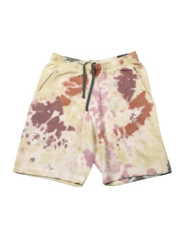 NIKE – Tie Dye Shorts Man (Dark Beetroot/Vintage Green/White)
