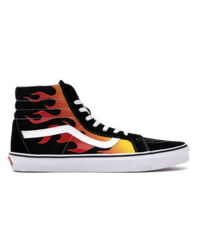 VANS – Sk8-Hi Reissue Flame (Black/True White)