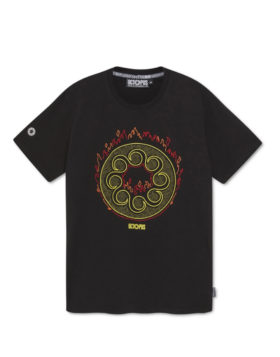 OCTOPUS – More Fire Logo Tee (Black)
