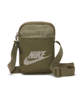Nike – Sportswear Heritage Small Items Bag (Medium Olive)